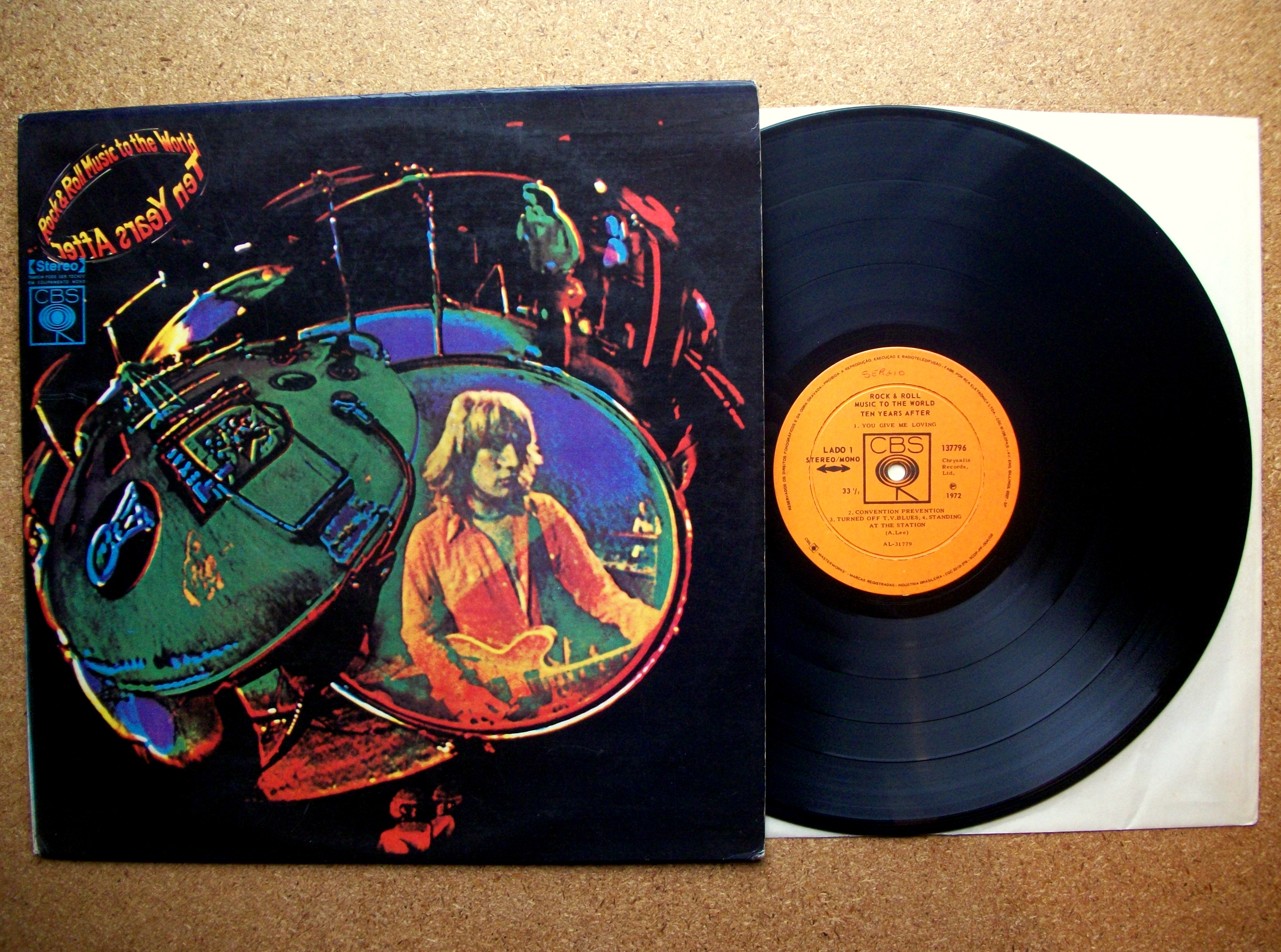 SINISTER VINYL COLLECTION: TEN YEARS AFTER – ROCK & ROLL