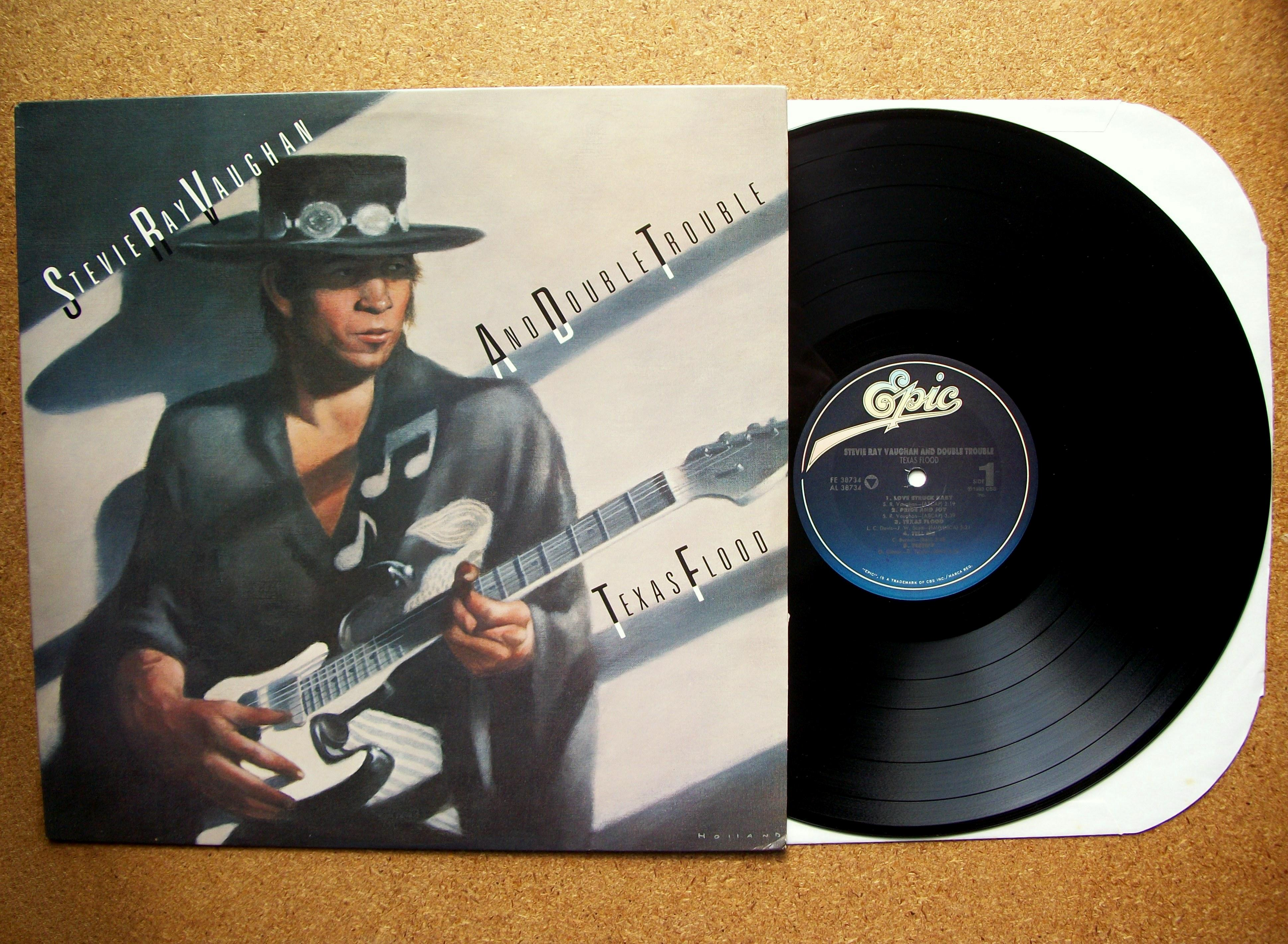Sinister Vinyl Collection Stevie Ray Vaughan And Double