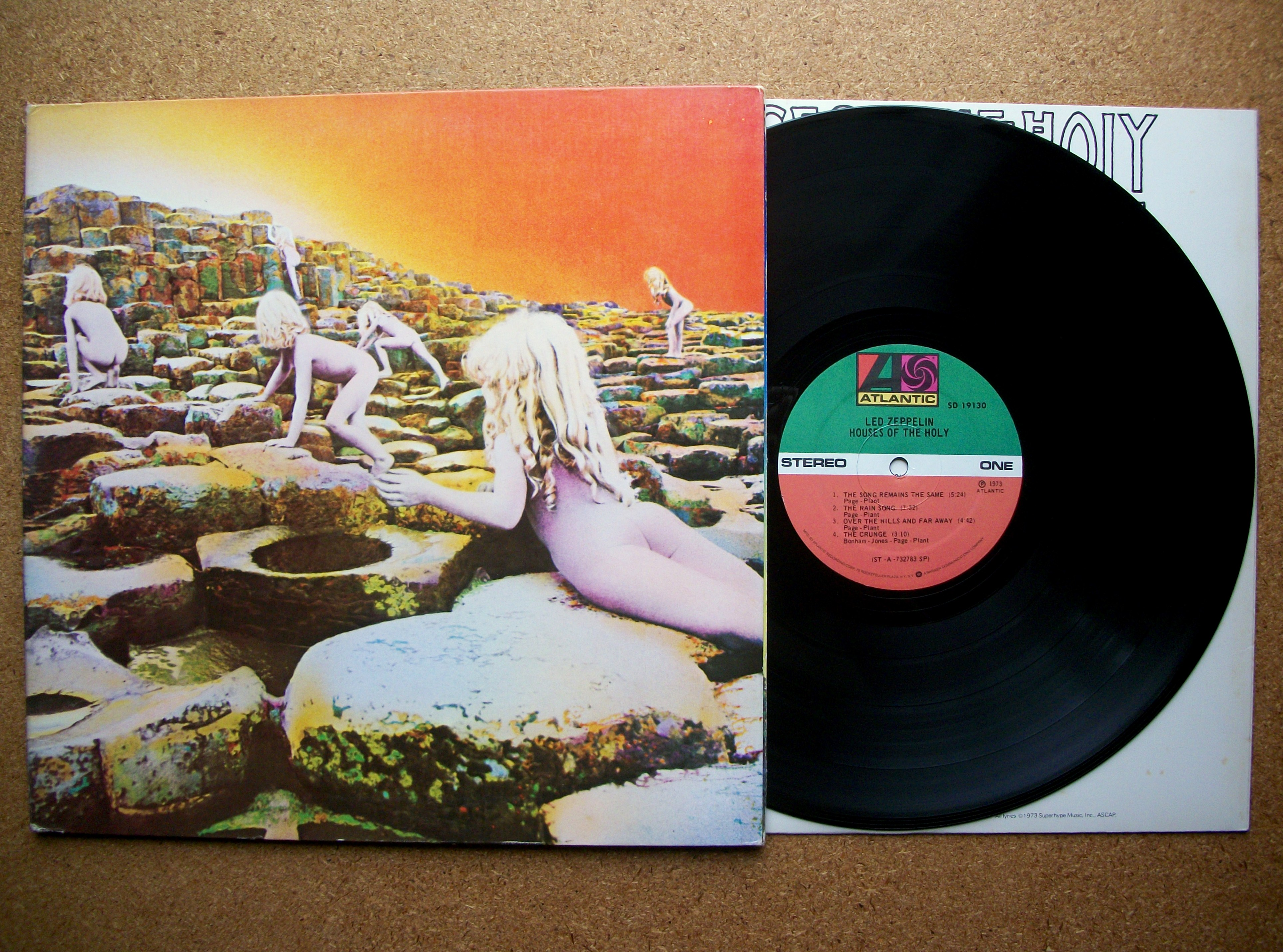 Sinister Vinyl Collection Led Zeppelin Houses Of The