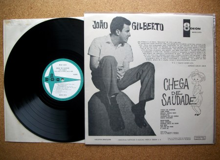 Sinister Vinyl Collection Jo 195 O Gilberto Chega De