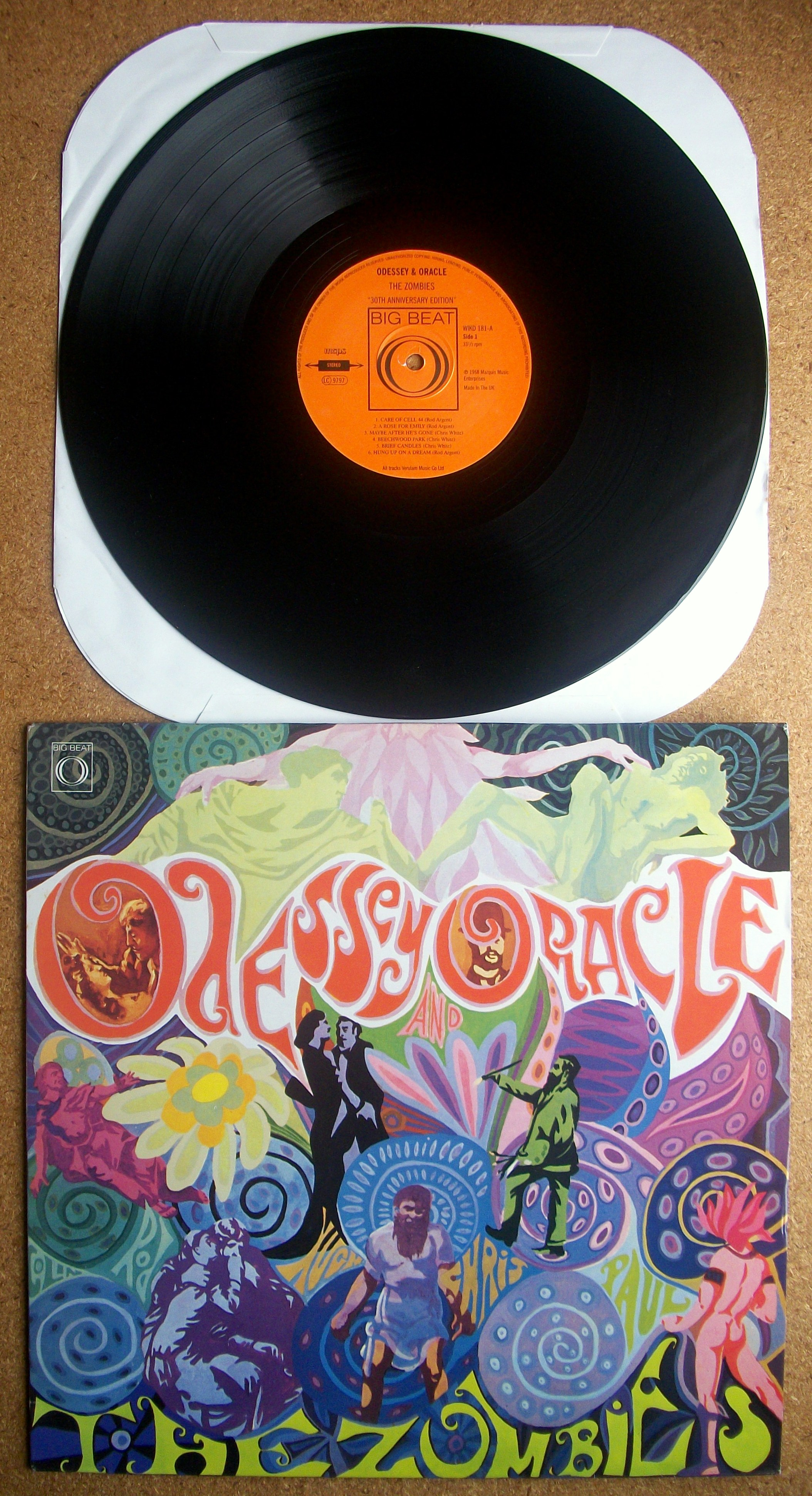 Sinister Vinyl Collection The Zombies Odessey Amp Oracle