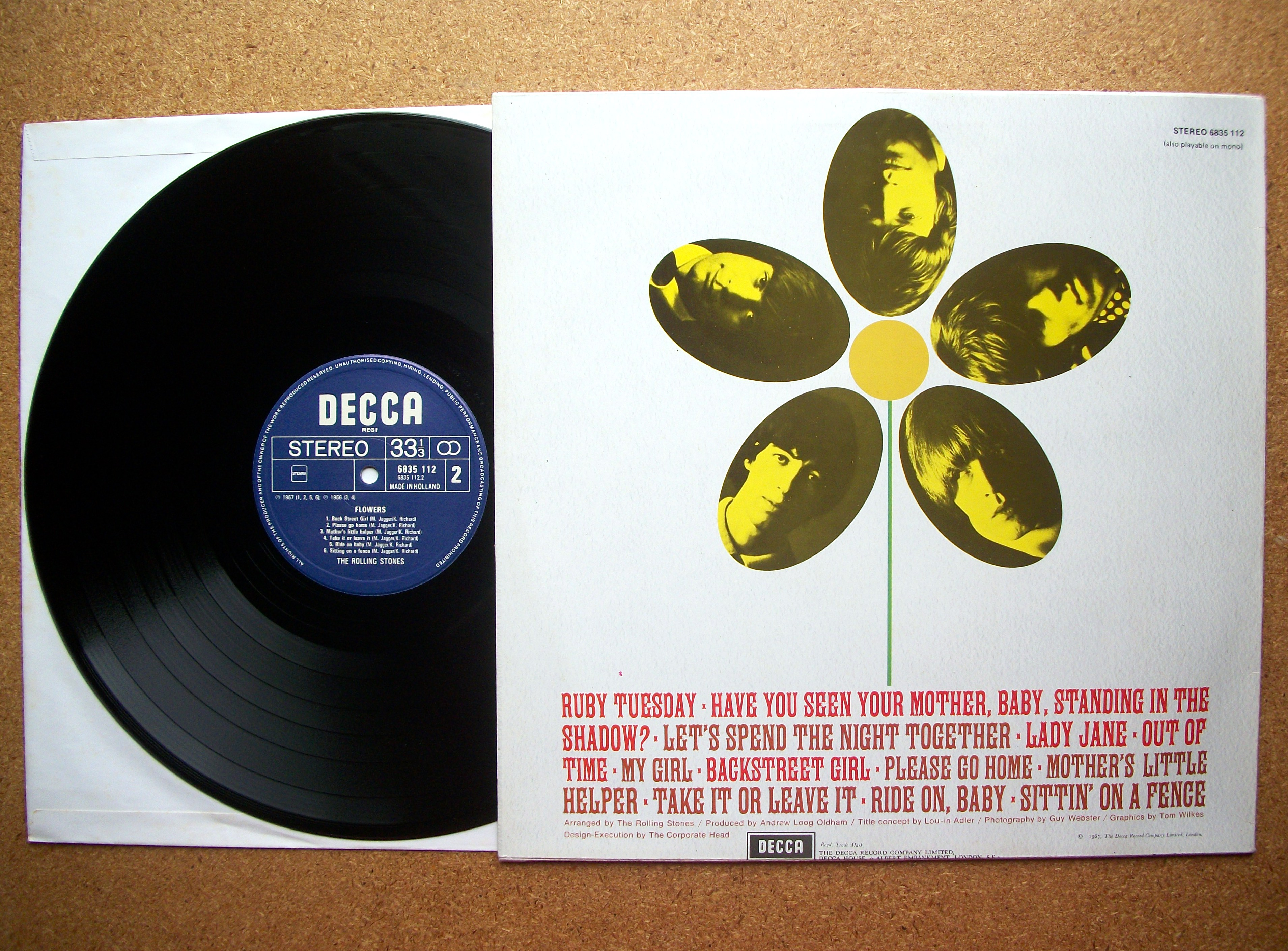 9d2d11cc7f SINISTER VINYL COLLECTION  THE ROLLING STONES – FLOWERS (1967 ...