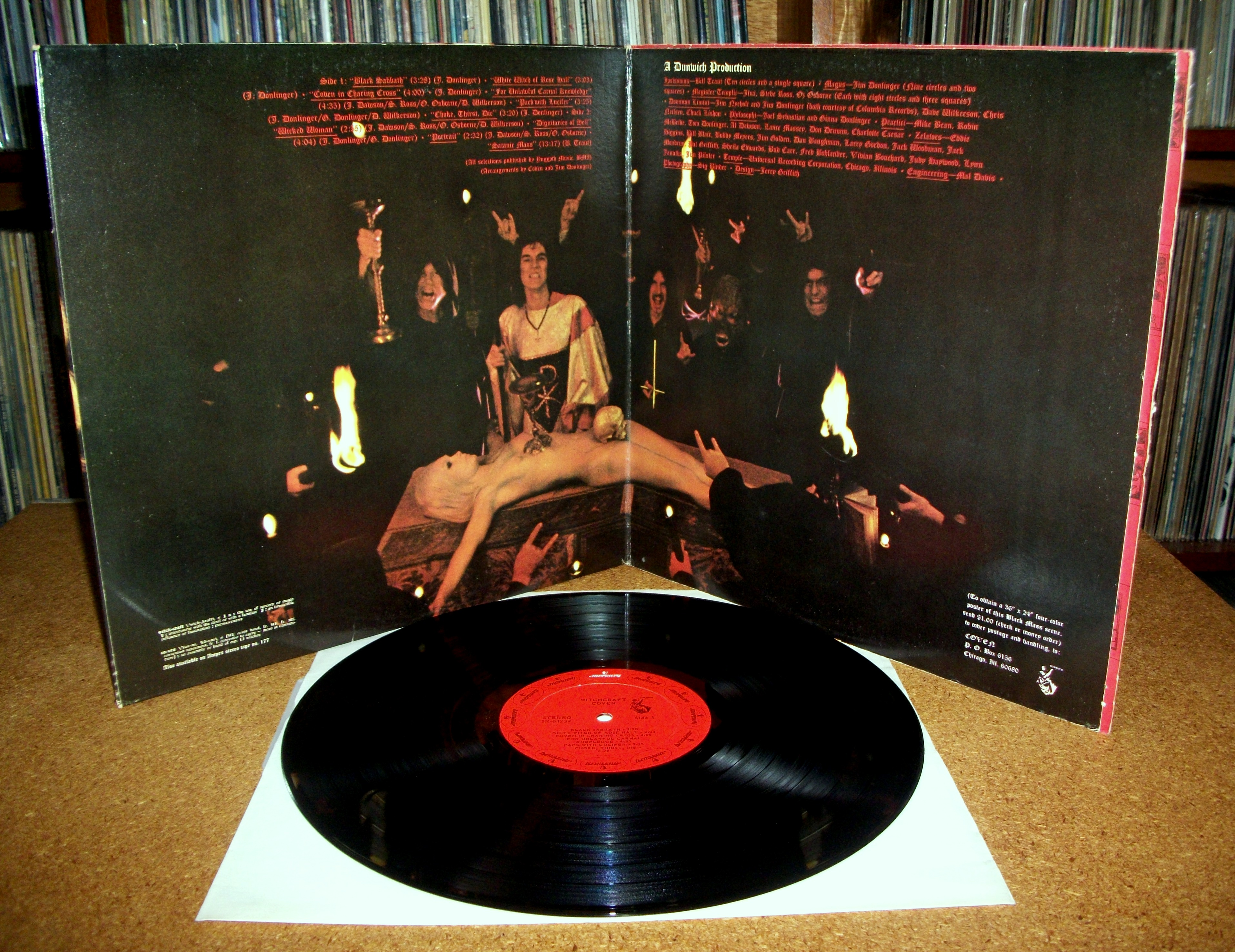 SINISTER VINYL COLLECTION: COVEN – WITCHCRAFT DESTROYS MINDS & REAPS