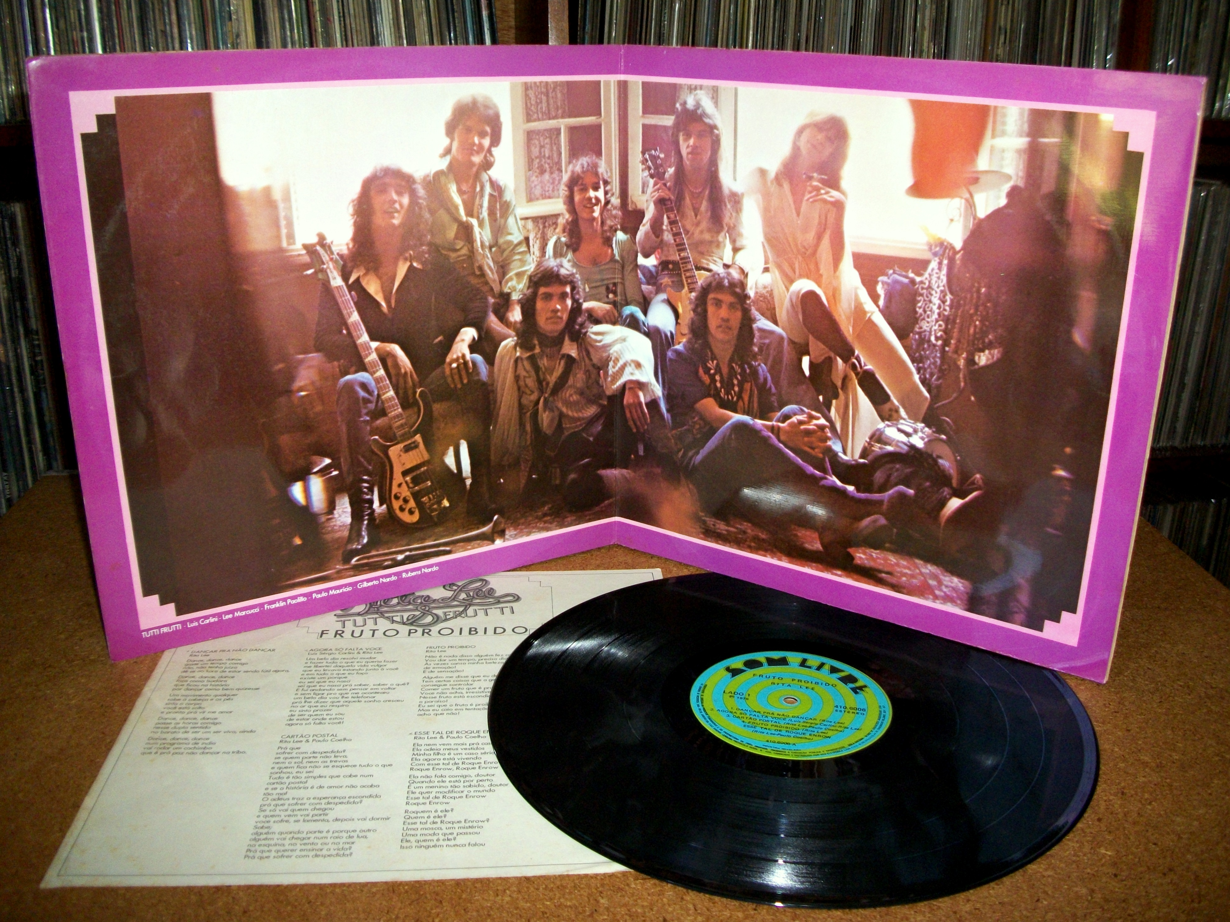 Sinister Vinyl Collection Rita Lee Amp Tutti Frutti Fruto